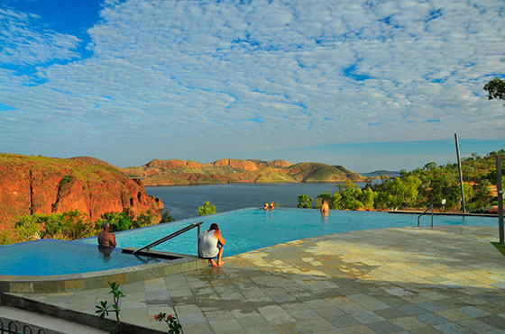 Infinity Pool At Lake Argyle The Kimberley S Caravan Park